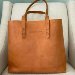 Whipping Post STANDARD TAN  LEATHER TOTE (WPStandard) (Please Read)