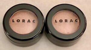 NEW Lot of 2 LORAC Original Velvety-Smooth Eye Shadow 2 x 0.06 oz - Shade HONEY