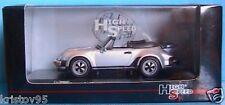 PORSCHE 911 TURBO CABRIOLET 1986 HIGHSPEED 1/43 SILVER