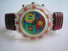 "Swatch Aqua-Chrono-flex ""lillibeth"" + nuevo/barato + - S -"