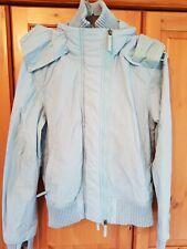 Superdry the windbomber turquoise blue coat, anorak. Size M medium