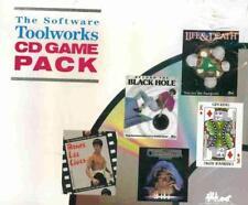 Bruce Lee Lives, Cribbage King, Beyond the Black Hole + Manual PC CD 5 games!