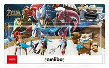 Amiibo Zelda Set 4 Campioni ( Champions ) Nintendo Switch