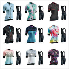 Women's Cycling Short Sleeve Jersey Set Shorts Bicycle Outfits Bike Clothing