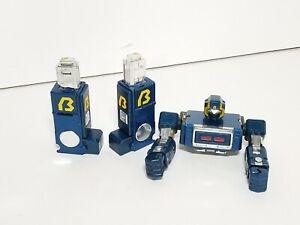 Vintage Voltron II Deluxe Gladiator BLUE ROBOT Matchbox Bandai BROKEN!