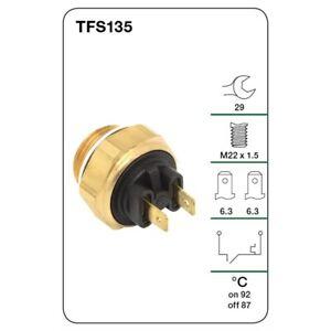 Tridon Fan switch TFS135 fits Jaguar XJ 12 5.3 (211kw), 12 H.E. (217kw), 5.3 ...