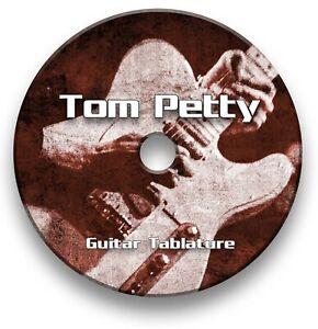 Tom Petty Rock Guitar Tabs Tablature Lesson Software CD - Guitar Pro