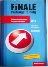 Finale Prüfungstraining - Englisch Mittlerer Schulabschluss NRW 2014 + Audio-CD