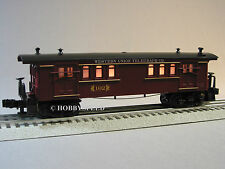 LIONEL WESTERN UNION TELEGRAPH LIGHTED BAGGAGE CAR O GAUGE train 6-81264 B NEW