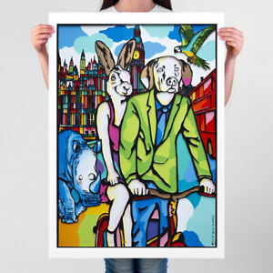 GILLIE AND MARC   Giclee Print Limited Ed   Direct from Artists   London Animals