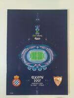 2007 UEFA CUP FINAL PROGRAMME - ESPANYOL V SEVILLA