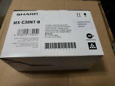 Sharp MX-C30NT-B Black  - Brand New