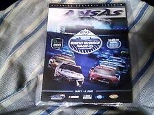 """New Listing2021 Kansas Speedway """"Buschy McBusch Race 400"""" Nascar Event Program"""