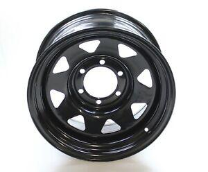"Mitsubishi L200 K74 17"" Black 8"" ET5 Modular Steel Wheel 6x139.7"