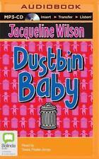 Dustbin Baby by Jacqueline Wilson (2015, MP3 CD, Unabridged)