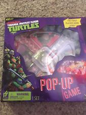 Teenage Mutant Ninja Turtles Pop Up Game Nickelodeon Ages BNIP TMNT Sorry Game