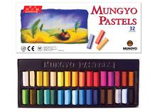 Mungyo Soft Drawing Art Pastel Set 32 Colors Color Set Square Chalk