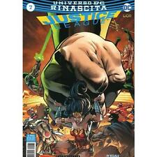 JUSTICE LEAGUE RINASCITA 7 - 65 - DC COMICS - RW LION ITALIANO - NUOVO