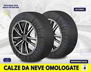 Catene da neve omologate CALZE Alfa Romeo 147 ruote Pneumatici cerchi misure kit