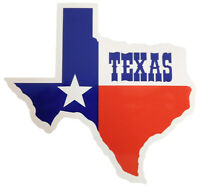 State of Texas Flag Map TEXAS Vinyl Decal Bumper Sticker