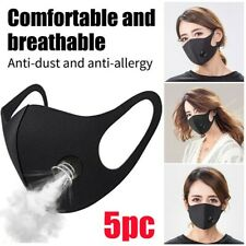 US Reusable Air Purifying Face Mask with Carbon Filter Anti-fog PM2.5 Respirator