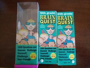 BRAIN QUEST 5th Grade 1500 Questions & Answers Challenge Yourself Ages 10-11Pre-