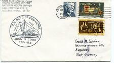 1973 NOAA Ship John N. Cobb FRV-52 Fairview Seattle Polar Antarctic Cover
