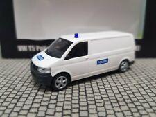 1/87 Rietze VW T5 mit Dachaufbau Polizei Spezialeinsatzkommando SEK weiß