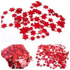 4 x Sternenkette, Girlande, Sternengirlande, 4 x 1,8m, rot, Baumkette, 2.Wahl
