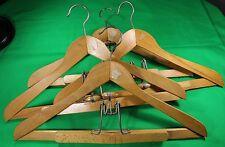 4 Vintage Diplomat Clothes Hangers