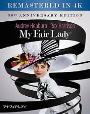 My Fair Lady 4K digital Remastered Japanese dub with sound Japan Blu-ray 2 Disc