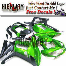 Green Black Fairings For Kawasaki Z1000S 2010 11 12 13 ABS Fairing Kit Bodywork