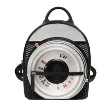 Women Mini Backpack Personality Camera Designs PU Shoulder Satchel Small Hnadbag
