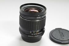 Pentax 18mm f3.5 SMC Pentax PK mount lens with built-in dial filters & caps