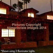 Sparkle Magic Red Illuminator! OuTdoOr Lazer LigHt! Crimson StArs! New! 4.0 Wow