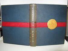ANDRE WARNOD VISAGES PARIS 1930 IllustréRELIURE MOSAÏQUEE MONTMARTRE QUAT'ZARTS
