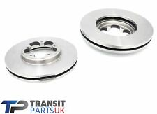 FORD TRANSIT MK8 CUSTOM FRONT BRAKE DISCS 2.2 FWD 2012 ON 250 TO 310 SERIES