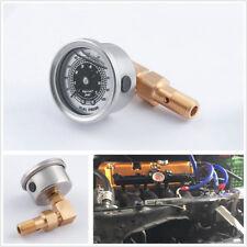 Car Fuel Pressure Liquid Filled Gauge Adapter Kit For Honda Civic Acura Integra