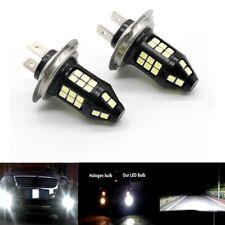 H7 3030-LED Headlight High Low Beam Bulb Kit 6000K White 45W 8000LM Super Bright