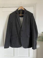 Superdry Mens Tweed Jacket; Size Medium
