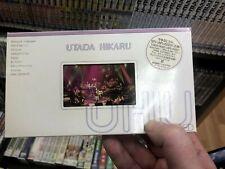 Utada Hikaru Utada Unplugged MTV UHU NTSC VHS authentic EMI Japanese with POSTER