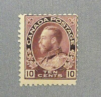 *Kengo* Canada stamp #116 KING GEORGE V ADMIRAL ISSUE MH CV$120 @324