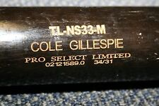 COLE GILLESPIE GAME USED ZUCCI LUMBER MODEL WOOD BAT MIAMI MARLINS