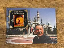 Disney Walk in Walt's Footsteps Disneyland Tour Book Hinge Pin Post Card