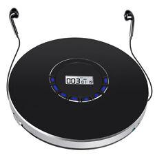 Tragbarer CD Discs Player MP3 Spieler Walkman Anti-skip USB AUX AKKU+Kopfhörer