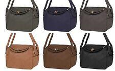 Markenlose unifarbene Damentaschen mit zwei Trägern