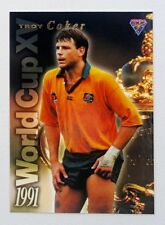 1995 Futera Rugby Union World Cup XV insert card #WC8 Troy Coker