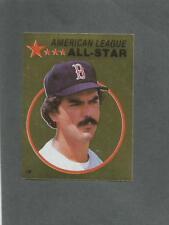 1982 O-Pee-Chee Baseball Sticker Dwight Evans #135 All-Star Foil Red Sox *MINT*
