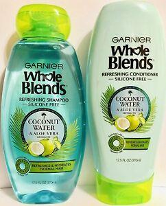 Garnier Whole Blends Coconut Water & Aloe Vera Shampoo & Conditioner Set 12.5oz