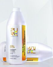 PURE Brazilian Keratin Hair Treatment 5% 1000ml Hair Straightener For All Types